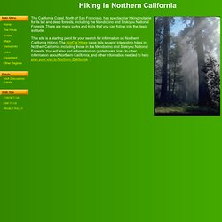 in Northern California - Hiking Information