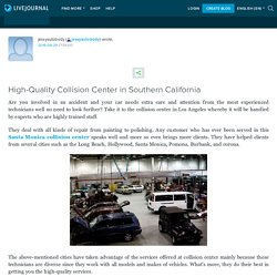 High-Quality Collision Center in Southern California: jessyautobody