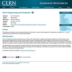 California Learning Resource Network