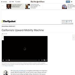 California's Upward-Mobility Machine