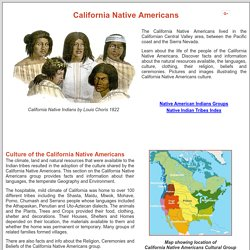California Native Americans