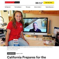 California Prepares for the Presidential Election