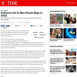California Reaches Compromise on Plastic Bag Ban