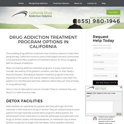 Residential Drug Addiction Treatment Centers California