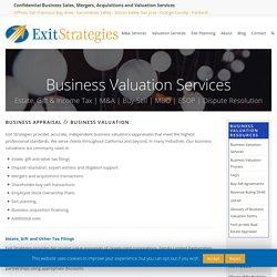 California Business Appraisal & Business Valuation Sacramento, San Jose