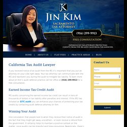 California Tax Audit Attorney