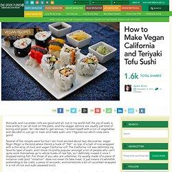 How to Make Vegan California Sushi