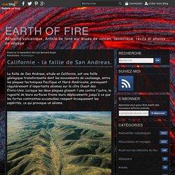 Californie - la faille de San Andreas.