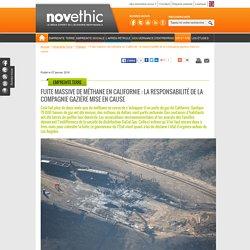 Fuite massive de méthane en Californie : la responsabilité de la compagnie gazière mise en cause