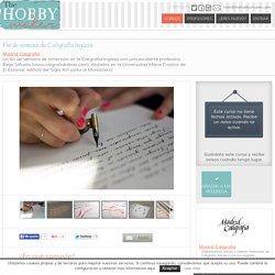 Fin de semana de Caligrafía Inglesa en SAN LORENZO DE EL ESCORIA (12/12/2014) – Madrid Caligrafía, apúntate online en The Hobby Maker