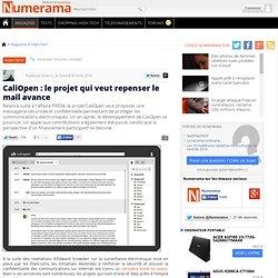 CaliOpen : le projet qui veut repenser le mail avance
