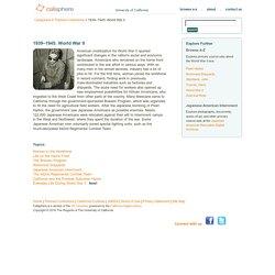Calisphere - 1939–1945: World War II