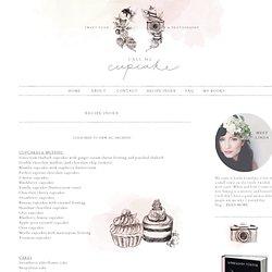 Call me cupcake: Recipe Index