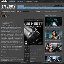 Black Ops II Wiki