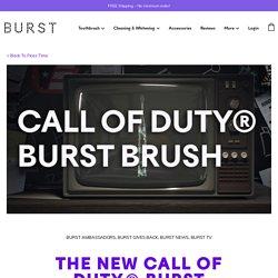 The NEW Call of Duty® BURST Brush - Burst Blog