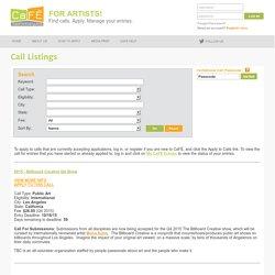 Call Listings