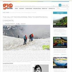 The Call of the Mountains: Trek to Hampta Pass