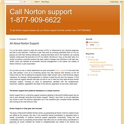 All About Norton Support