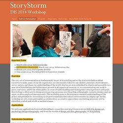 Call For Participation - StoryStorm