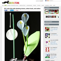 DIY calla lilly