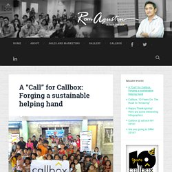"A ""Call"" for Callbox: Forging a sustainable helping hand"