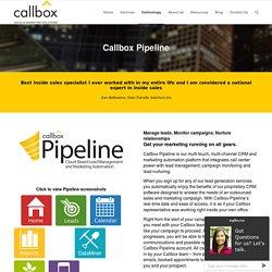 Callbox Pipeline - callboxinc.com.au - B2B Lead Generation and Appointment Setting