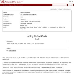 A Boy Called Chris - Rekall - Vassalord