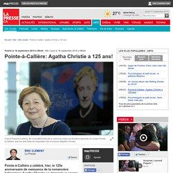 Pointe-à-Callière: Agatha Christie a 125 ans!