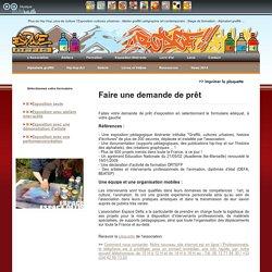 Prêt et exposition, graffiti tag calligraphie, cultures artistiques urbaines, artistes graffeurs, France, Europe