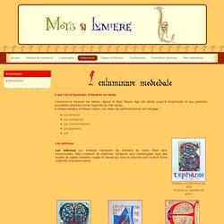 Mots en lumière - Calligraphie et Enluminure médiévale - Pau