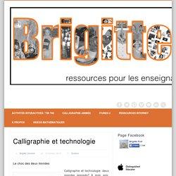 Calligraphie et technologie