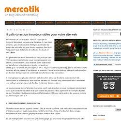 8 calls-to-action incontournables pour votre site web