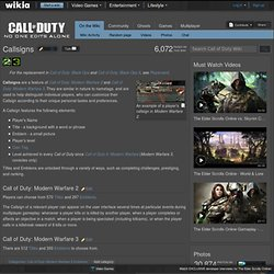 Callsigns - The Call of Duty Wiki - Call of Duty: Modern Warfare