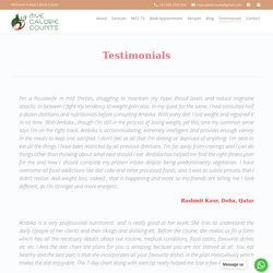 Mye Calorie Counts Custmer Review Rating Testimonials