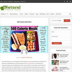 Diet Plans & Weight Loss - Natural Health News