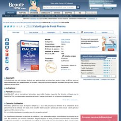 CaloriLight de Forté Pharma sur Beauté-test.com