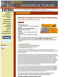 MIT Enterprise Forum - (Build 20090824085414)