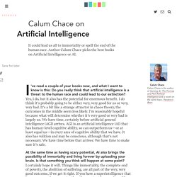 Calum Chace Artificial Intelligence