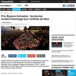 [France Info] - Prix Bayeux-Calvados : les jeunes rendent hommage aux victimes de Nice