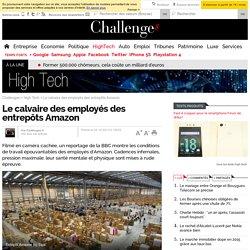 Le calvaire des employés des entrepôts Amazon - 2 décembre 2013