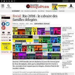 Brésil. Rio 2016: le calvaire des familles délogées