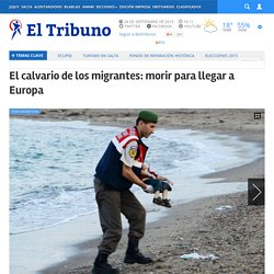 El calvario de los migrantes: morir para llegar a Europa