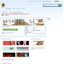Calvin And Hobbes Explorers 2 :: Firefox Add-ons