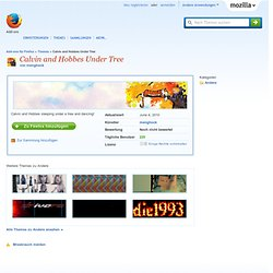 Calvin and Hobbes Under Tree :: Firefox Add-ons