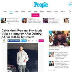 Calvin Harris Promotes New Music Video on Instagram