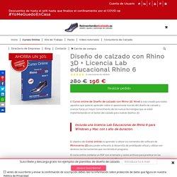 Diseño de calzado con Rhino 3D. Curso Rhinoceros 3D CON LICENCIA!!!