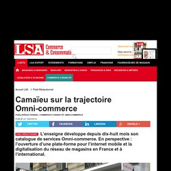 Camaïeu sur la trajectoire Omni-commerce