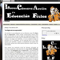"""LUCES, CÁMARA Y ACCIÓN EN E.F: """"La lógica de la cooperación"""""""