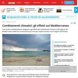 Cambiamenti climatici: gli effetti sul Mediterraneo