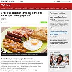 ¿Por qué cambian tanto los consejos sobre qué comer y qué no? - BBC Mundo